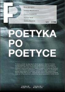 Forum Poetyki | lato 2015
