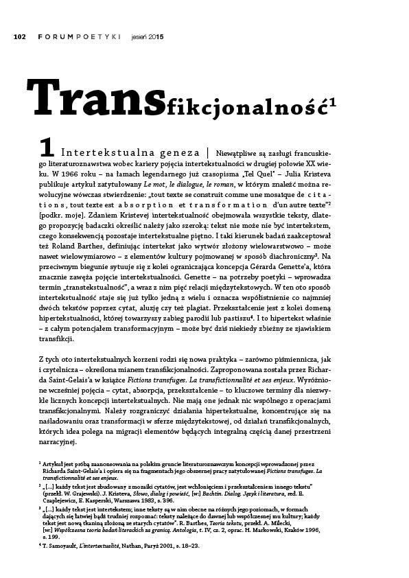 Transfikcjonalność