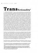 Transfictionality