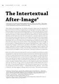 The Intertextual After-Image