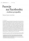 Facecje na Facebooku - studium przypadku