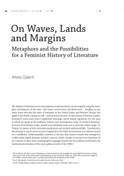 On Waves, Lands and Margins. Metaphors and the Possibilities  for a Feminist History of Literature