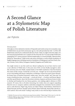 A Second Glance at a Stylometric Map of Polish Literature
