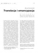 Translacja i emancypacja