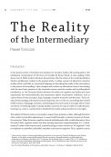 The Reality of the Intermediary