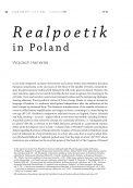 Realpoetik in Poland