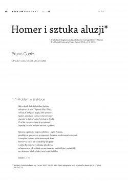 Homer i sztuka aluzji