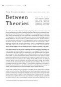 Between theories