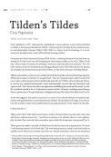 Tilden's Tildes