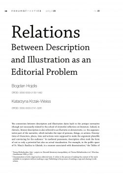 Relations Between Description and Illustration as an Editorial Problem