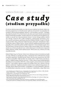 Case study (studium przypadku)